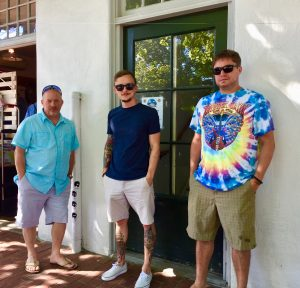 Martha's Vineyard -- son, Eirik, Grandsons — Pierce, and Josh